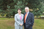 Ruth Davidson MSP and John McLellan