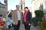 Ruth Davidson MSP and Cllr Iain Whyte