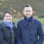 Cllr Callum Laidlaw and Ruth Davidson MSP