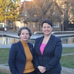 Cllr Joanna Mowat and Ruth Davidson MSP