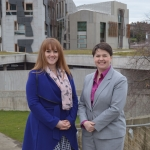 Ruth Davidson and Stephanie Smith