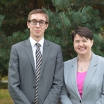 Councillor Scott Douglas and Ruth Davidson MSP